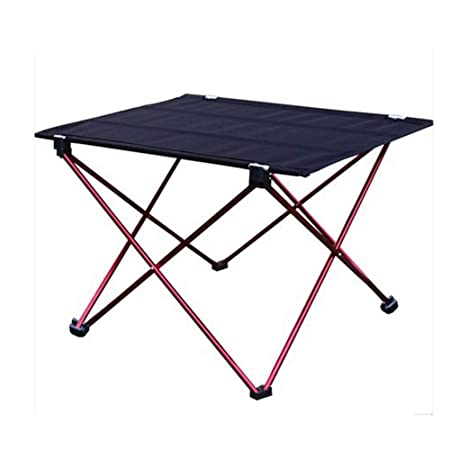 Ligera mesa de camping plegable mesa exterior patas de aleación de ...