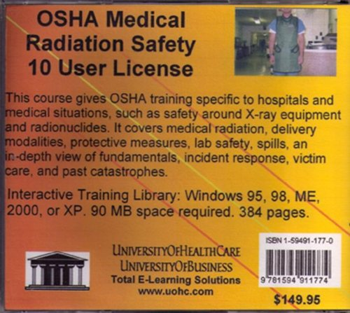 Download OSHA Medical Radiation Safety, 10 Users pdf