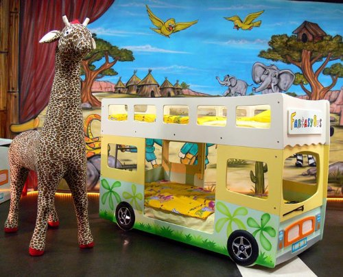 Etagenbett Autobus : Hochbett etagenbett fantasy bus amazon küche haushalt