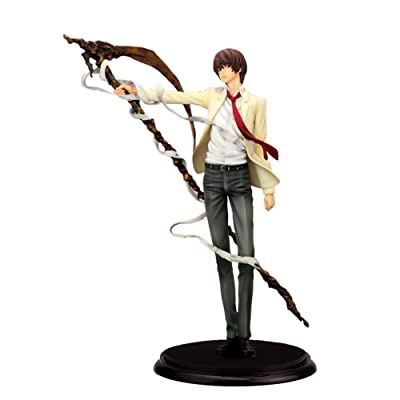 SosoJustgo2 Anime PVC Action Stand Figures Model Toy Animator Collection Action Statues Home Decor (with Box)(Death Note 26CM): Kitchen & Dining