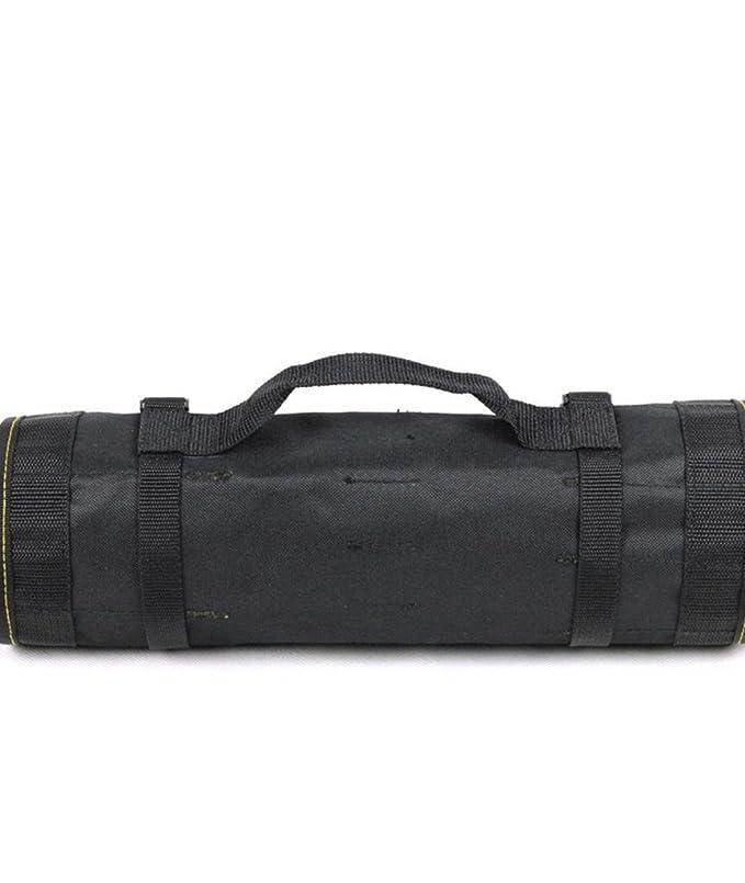 Herramienta de Protección Herramienta Rollo Bolsa Bolsa Carrier Use material impermeable negro multiusos - - Amazon.com