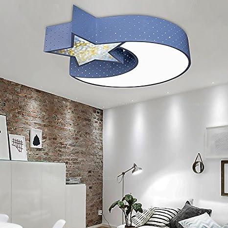 Creativo de cristal luz de techo llevada los niños Sala ...