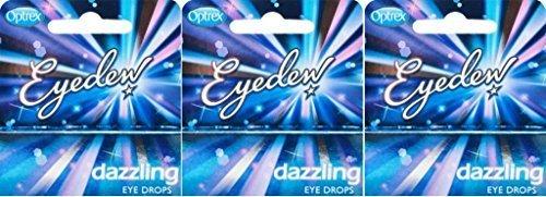Optrex Eyedew Dazzling Eye Drops 10Ml X 3 Packs