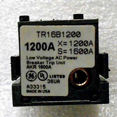 TR16B1200 - 1200A GE RATING PLUG, 1600A CT by GE