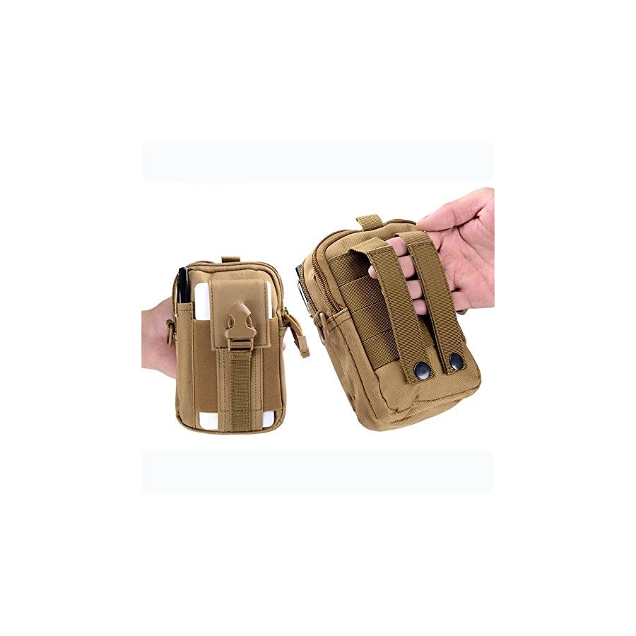 Hiking Climbing Outdoor Sport Travel Hunting Resistent Tactical Military Portable Waterproof Waist Bag
