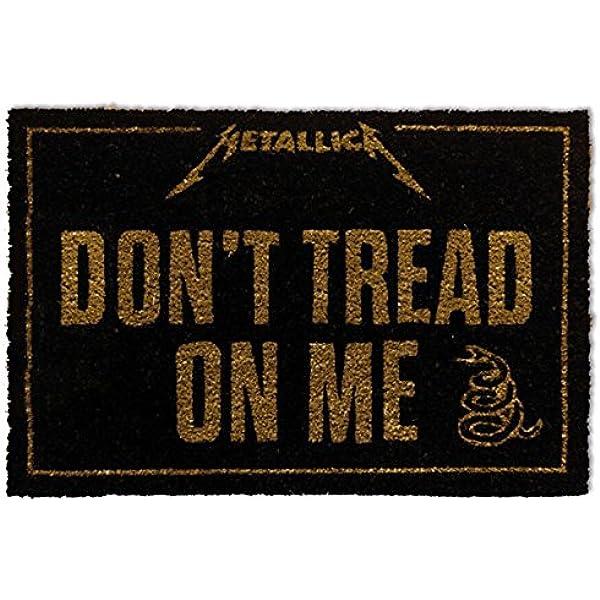 1art1 Metallica - Dont Tread On Me Felpudo Alfombra (60 x 40cm): Amazon.es: Hogar