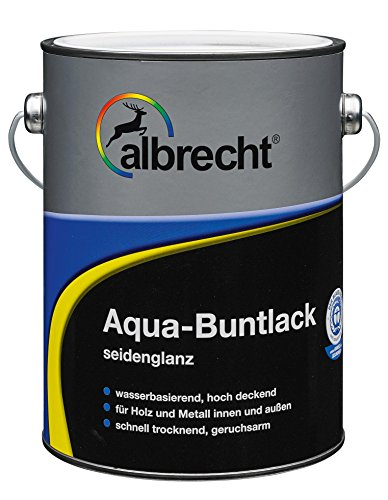 Albrecht Aqua-Buntlack seidenglanz RAL 1021 375 ml, gelb, 3400505950102100375