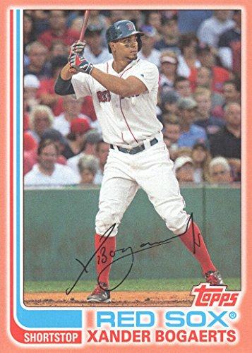 Boston Peach - 2017 Topps Archives Baseball Peach #194 Xander Bogaerts 103/199 Boston Red Sox