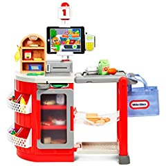 Little Tikes' Extensive line of role play toys help kids build social skills, language skills, and explore the world around them. And they're fun too! Ready to shop, scan & checkout? Little Tikes shop & learn smart checkout lets kids ...