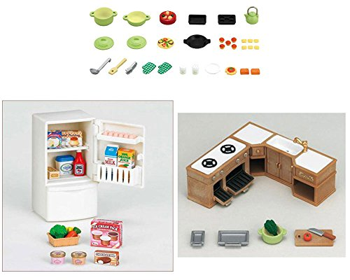 Different Sets Kitchen Cooking Refrigerator