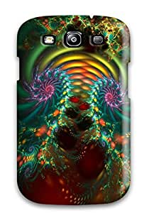 Zheng caseShock-dirt Proof Fractal Case Cover For Galaxy S3