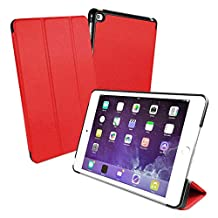 Tuff-Luv Smart Cover & Stand With Tablet Armour Shell for iPad Mini 4 - Red