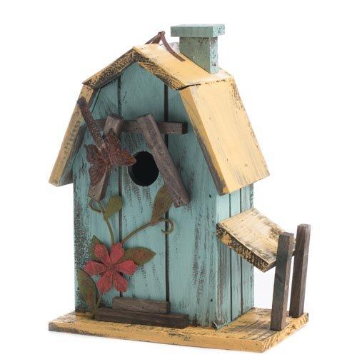 Factory Direct Craft Tweet Sweet Rustic Wooden Decorative Barn style Birdhouse