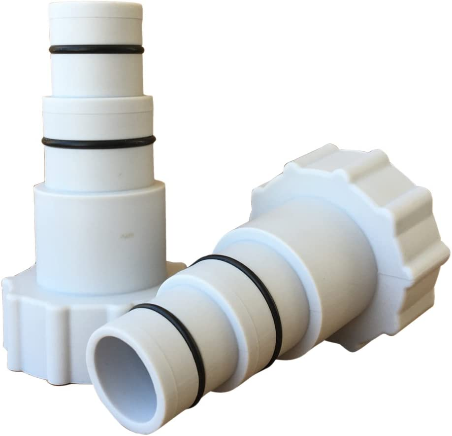 Summer Waves Type A Hose Adapter Pair for Above Ground Pools
