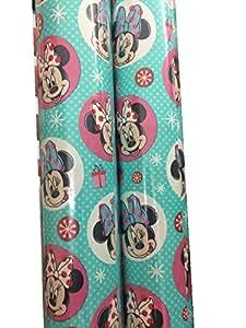 Hallmark's Disney Mickey Mouse Clubhouse MINNIE Christmas Gift Wrap 50 Sq. Ft.