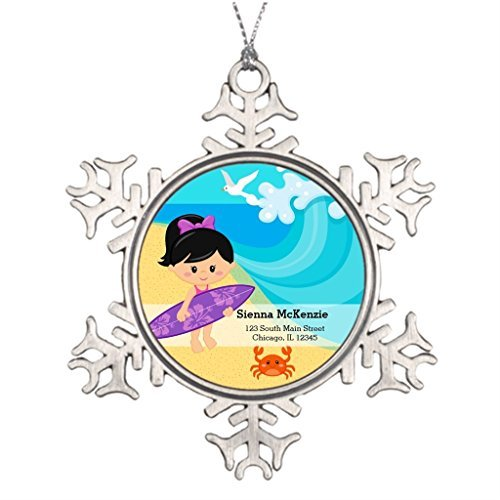 k Hair Outdoors Decoration Tree Friendship Christmas Snowflake Ornaments ()