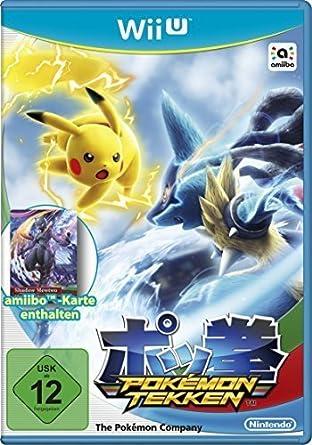 Nintendo Pokémon Tekken - Juego (Wii U, Soporte físico, Acción ...