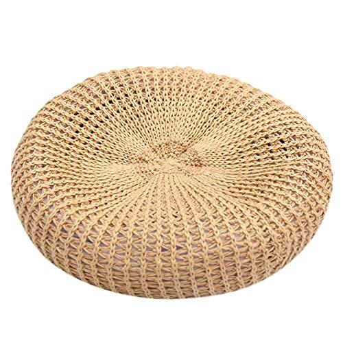 - ☀️☀️2019 Womens UPF 50+ Packable Summer Sun Straw Hat Foldable Adjustable Hats Gifts (Khaki)