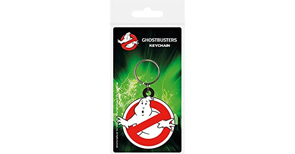 Amazon.com: Pyramid International Ghostbusters Llavero de ...