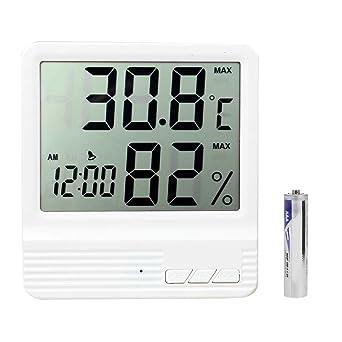 Estación meteorológica CX-301 LCD Digital termómetro higrómetro electrónico de la temperatura Medidor de humedad