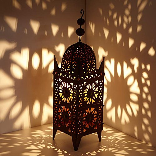 Orientalische Eisenlaterne Anwal 90 cm Casa Moro