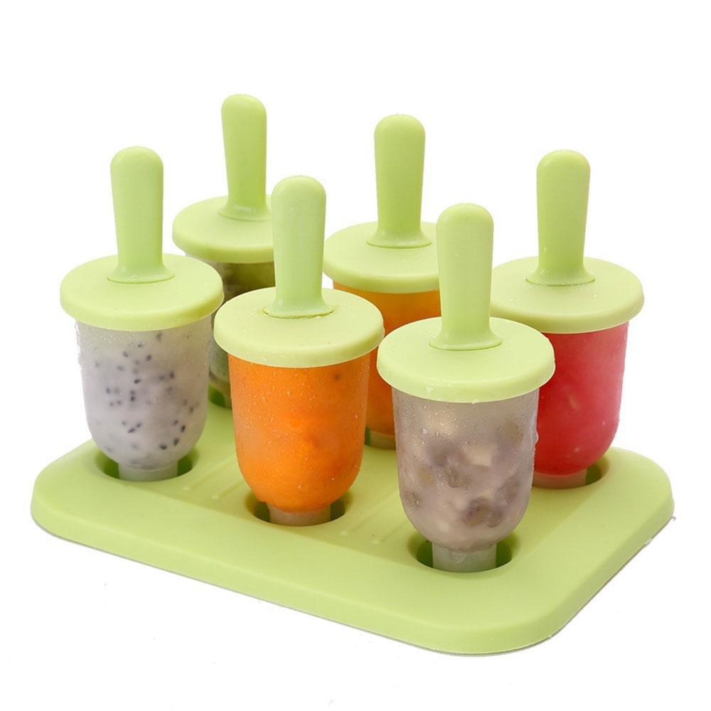 Compra Leegoal Moldes de plástico sin BPA para helado, juego ...