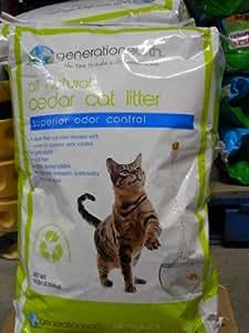 Generation Earth Natural Cedar Cat Litter Natural