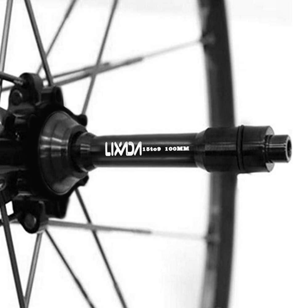 Lixada 9mm QR Adapter MTB Bike Thru Axle Hub Quick Release 135mm Bicycle Front