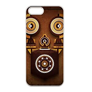 Steampunk Flip Case Snap-On Hard Cover For iphone 5/5s case Protective Case cover iphone 5 5s case