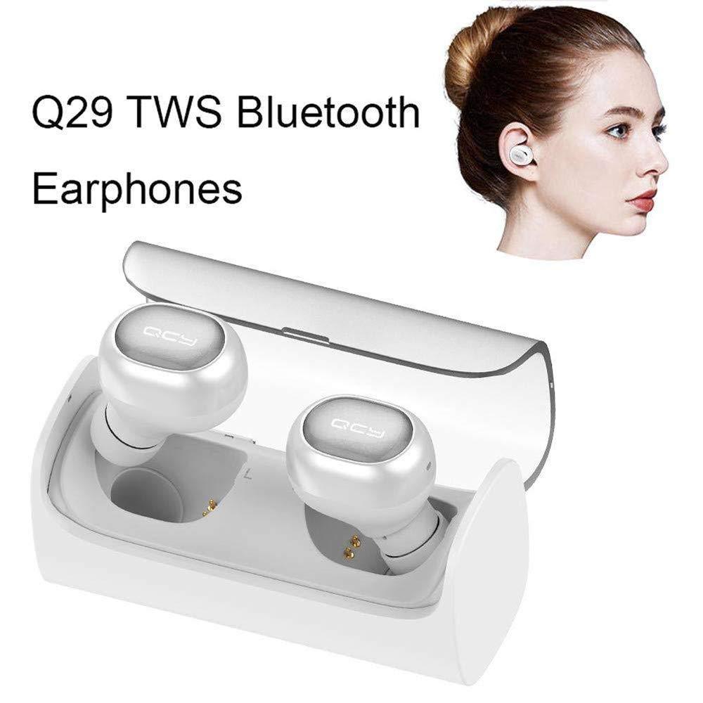 Bluetooth Auriculares inalámbricos,TechCode Auriculares con cancelación de ruido Auriculares estéreo HIFI Sport Sweatproof con micrófono incorporado para ...