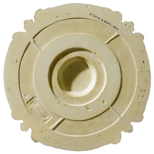 Ekena Millwork CM17SO 16 3/8-Inch OD x 2 3/4-Inch ID x 1 3/4-Inch Southampton Ceiling Medallion by Ekena Millwork (Image #4)