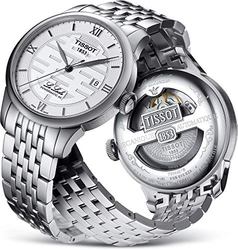 Tissot Le Locle Double Happiness Silver Dial Automatic Men's Watch T006.407.11.033.01