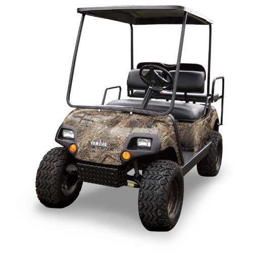 Mossy Oak Graphics (10060-DB) Duck Blind 4' x 10' Roll Golf Cart Camouflage Kit ()