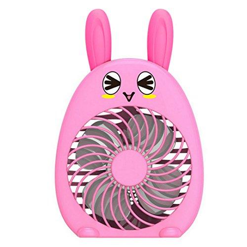 Monique Cute Rabbit Portable Electric Fan