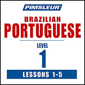 Pimsleur Portuguese (Brazilian) Level 1 Lessons 1-5 Speech