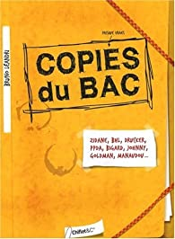 Copies du bac par Bruno Léandri