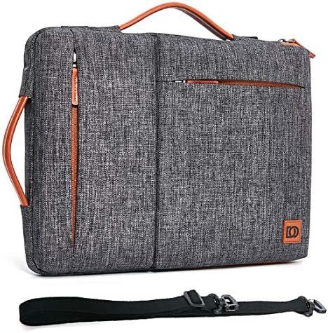 "DOMISO 17 Zoll Wasserdicht Laptop Tasche Sleeve Case Notebook Hülle Schutzhülle für 17.3"" Dell Inspiron/MSI/Lenovo IdeaPad 300 320 321/HP Envy 17/LG Gram 17""/ASUS ROG Strix GL702VS,Dunkelgrau"