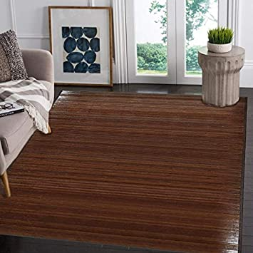 Fantastic Clevr Venice Natural Bamboo 5 X 8 60X96 Floor Mat Download Free Architecture Designs Rallybritishbridgeorg