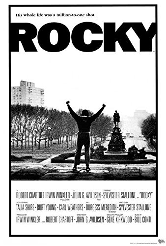 Rocky Movie POSTER 27 x 40 Sylvester Stallone, Talia Shire,