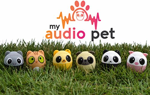 My Audio Pet Mini Bluetooth Animal Wireless Speaker with Powerful Rich Room-filling Sound – 3W audio driver Remote Selfie Function