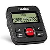 Ivation Call Blocker for Landline Phones - Stop Scams, Robocalls, Unknown Numbers, Solicitation and Calls with no Caller ID - Easy One-Touch Operation - Saves and Blocks up to 4000 Phone Numbers