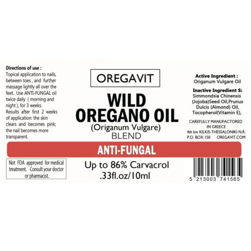 The Best 100% Natural Toenail Fungus Treatment with Wild Orego Oil,anti Fungus Nail.