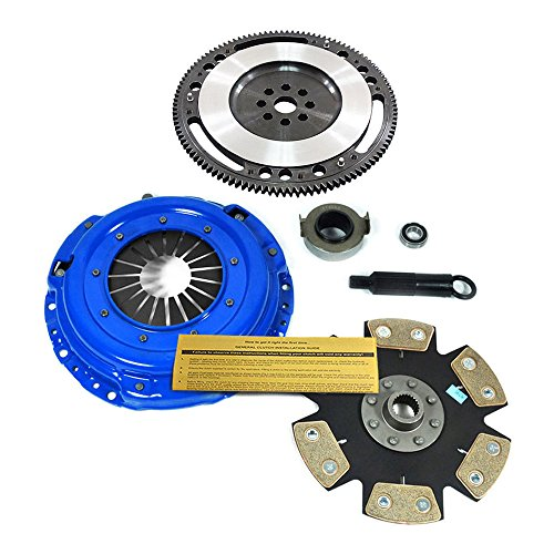 EFT STAGE 4 CLUTCH KIT+ 10 LBS CHROMOLY RACE FLYWHEEL for ACURA HONDA B16 B18 B20 - Flywheel 1996 Integra