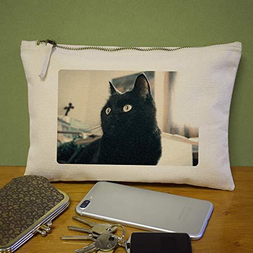 Case Embrague De Azeeda 'gato Negro' cl00004695 Accesorios Bolso wtYIYqa
