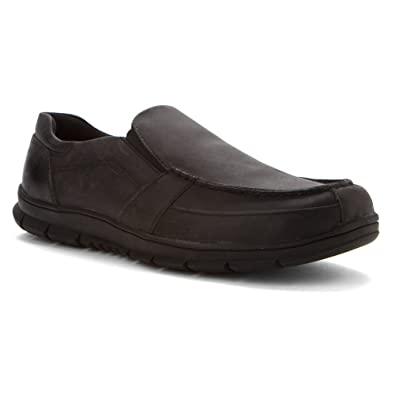 Propet Men's Black Dylan Slip-On 9 D(M) US
