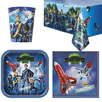 Thunderbirds Party Themes Plates Cups Napkins Kids Tableware