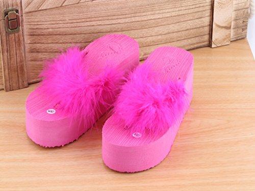 di sparto piste estate spiaggia Thirty Donyyyy o tela donne Sandali six scarpe di e pantofole TzYwEqx