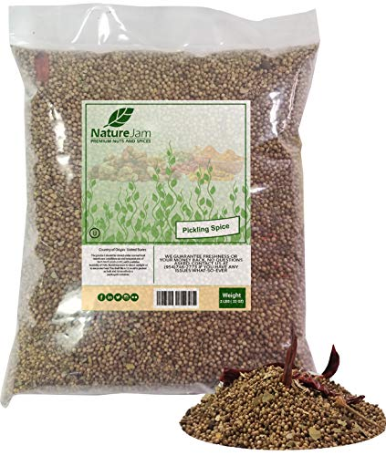 KOSHER Pickling Spice 2 Pounds Bulk Bag-Heat Sealed for Freshness