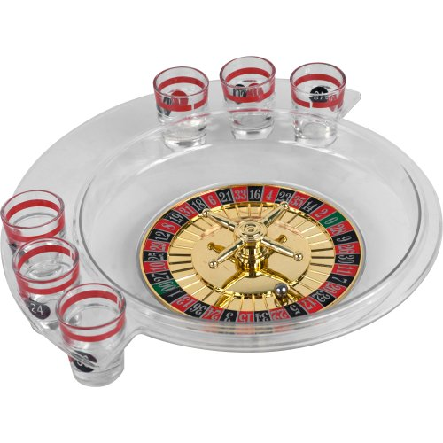 The Spins Drinking Roulette Game - Includes Bonus Deck of Cards! by TMG