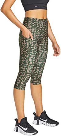 Rockwear Activewear Women's Sprint 3/4 Print Pocket Tight from Size 4-18 for 3/4 Length Bottoms Leggings + Yoga Pants+ Yoga Tights